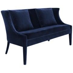 Koket Chignon Sofa in Velvet