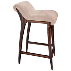 Koket Incanto Bar Stool in Velvet