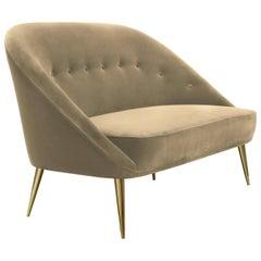 Koket Nessa Sofa in Velvet