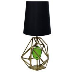 Koket Gem Table Lamp in Brass