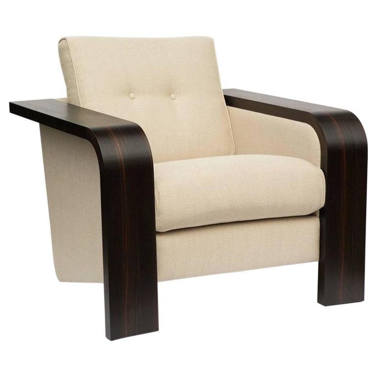 1970s Style Cocktail Lounge Chair For Sale