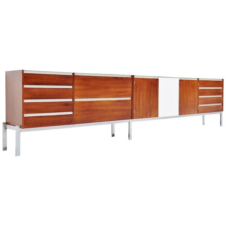 Kho Liang Ie Long Sideboard Wim Crouwel Fristho, 1957 For Sale