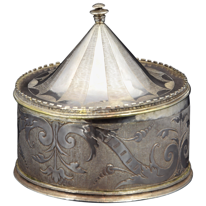 Silver Pyx, 16th Century