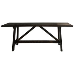 Exceptional 18th Century Minimalistic Table