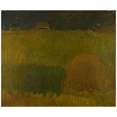Norwegian Landscape, Lili Ege, Oil on Board