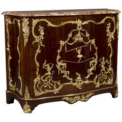 Louis XV Style Mahogany Side-Cabinet Attributed to François Linke, circa 1890