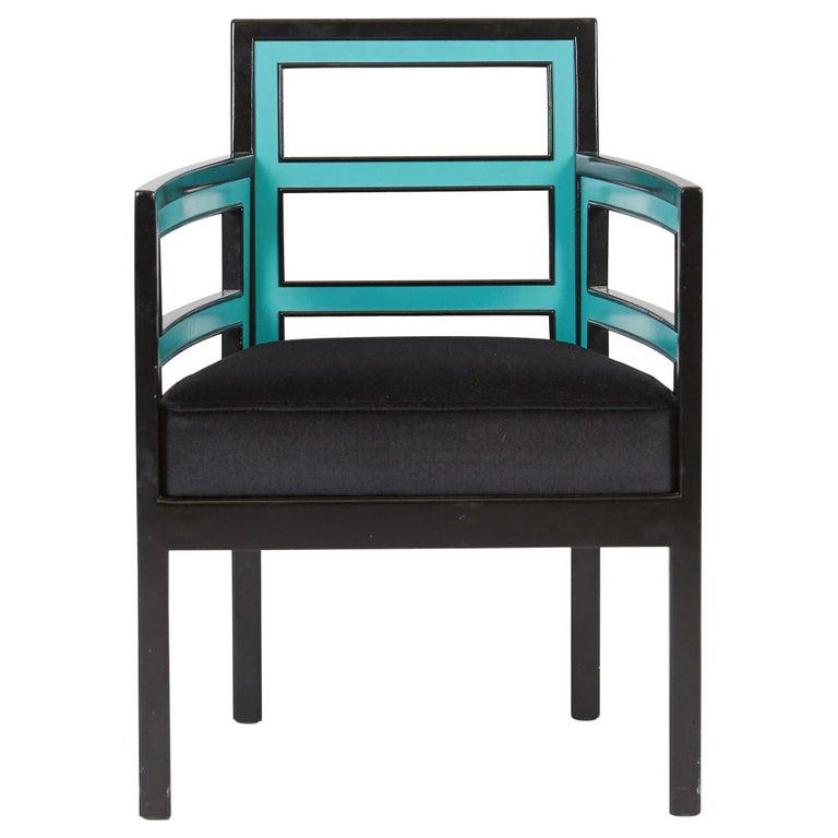 Eero Saarinen Art Deco Armchair For Sale