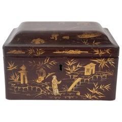 Lacquered Tea Box, China, 1925