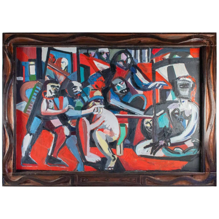 Important Painting of the Mid-20th Century, Modern Art For Sale