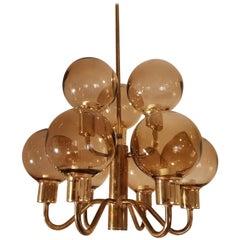 Hans-Agne Jakobsson Ceiling Lamp Model T716 Markaryd Sweden