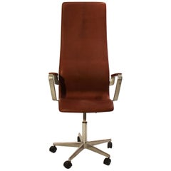 Oxford Classic Office Chair, Model 3292c by Arne Jacobsen, 1960s