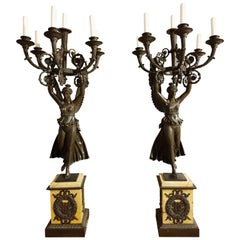 19th Century Candle Holders