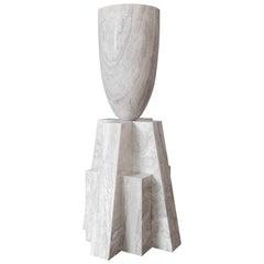 Babel Marble Vase, Arno Declercq