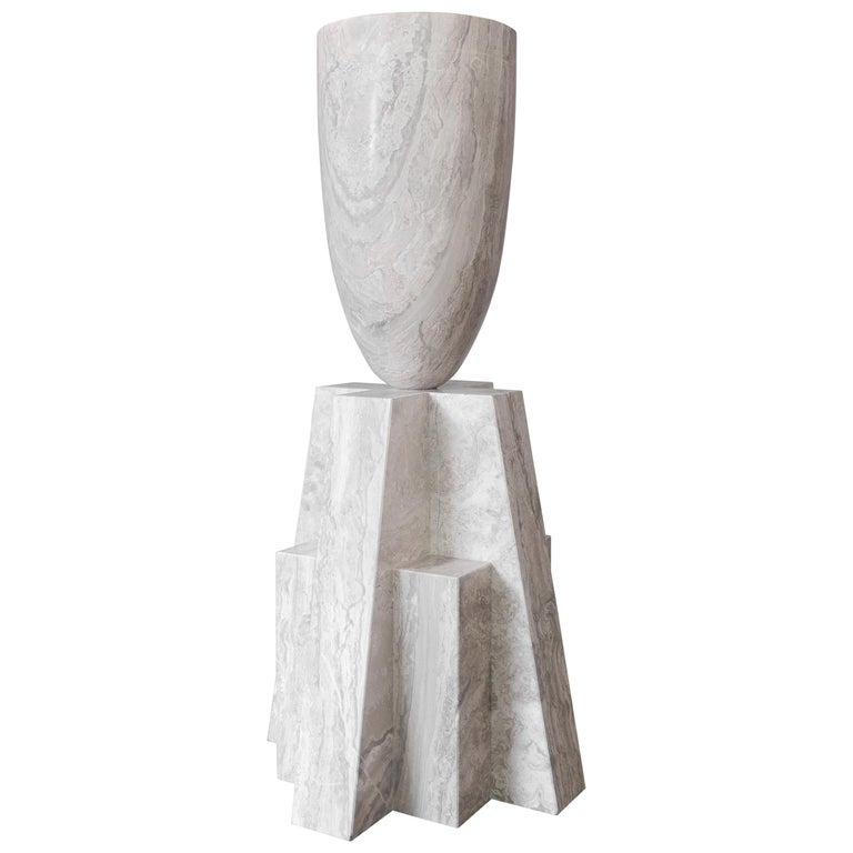 Babel Marble Vase, Arno Declercq For Sale