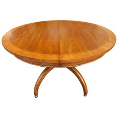 Fabulous William Doezema Biedermeier Style Dining Table for Mastercraft