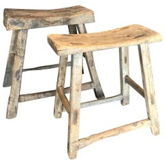 Antique Primitive Stools
