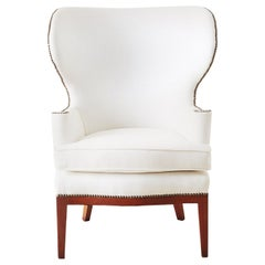 Midcentury Wing Chair by Edward Wormley for Dunbar