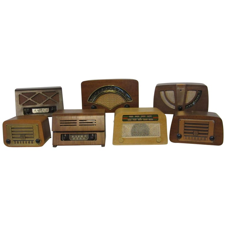 Ray & Charles Eames Designed Radio Collection For Sale