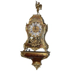 19th Century French Boulle Bracket Clock