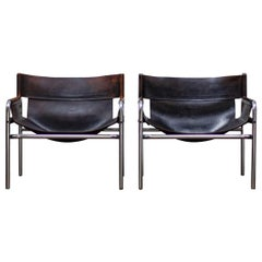 Pair of 1970s Walter Antonis Chairs