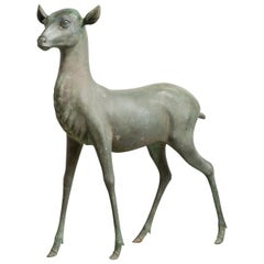 Late 19th Century Bronze Fawn