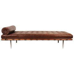 Early Production, Rosewood Daybed designed by Ludwig Mies van der Rohe