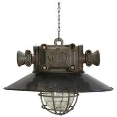Vintage Heavy Explosion Proof Lamp, 1960s