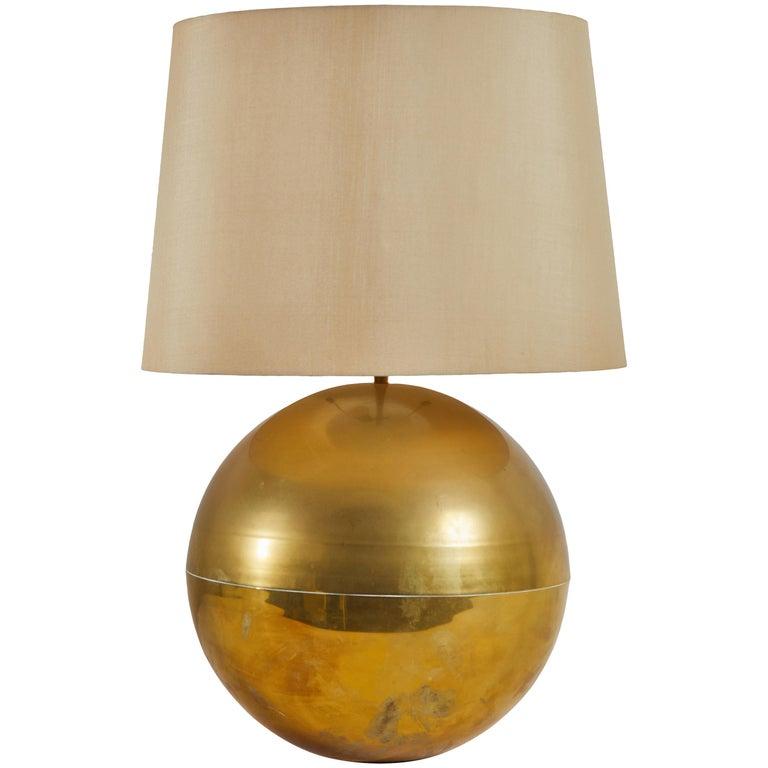 Table Lamp by Karl Springer For Sale