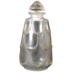 René Lalique Glass 'Perles No.3' Perfume Bottle