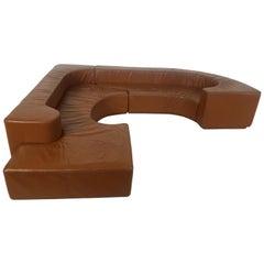 Mid-Century Modern 'Lara' Sectional Sofa by Pamio, Noti Massari and Renato Toso