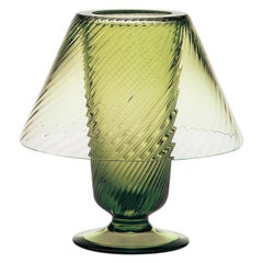 Lume, Candleholder Handcrafted Murano Glass, Angora Twist MUN by VG