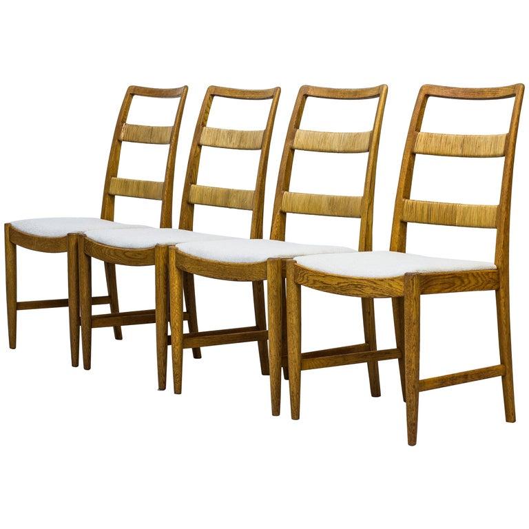 """""""Renette"""" Dining Chairs by Bertil Fridhagen, Bodafors, Sweden, 1958 For Sale"""