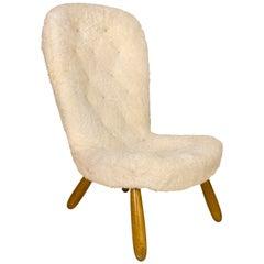 Scandinavian Modern Bergere Chairs