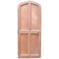 Arched Oak Door, circa 1900