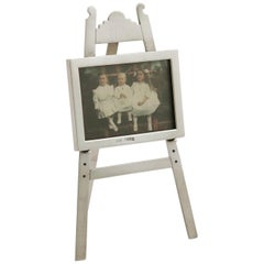 1903 Antique Edwardian Sterling Silver Photograph Frame