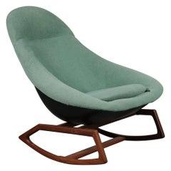 """Walter S. Chenery """"Gemini"""" Rocking Chair for Lurashell, UK 1960"""