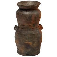 Beautiful and Decorative Ceramic Vase by Steen Kepp La Borne, 1975