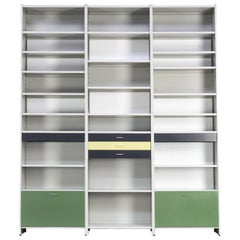 1960s André Cordemeyer Giant Model 5600 Metal Wall Unit for Gispen