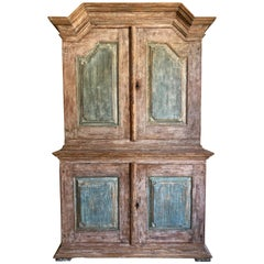 18th Century Swedish Gustavian Period Cabinet