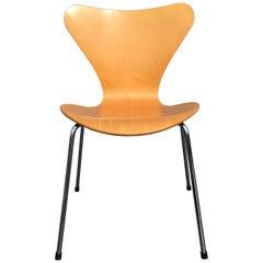 Six Arne Jacobsen Chairs Series 7 for Fritz Hansen