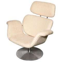 Pair of Artifort Swivel Tulip Chairs
