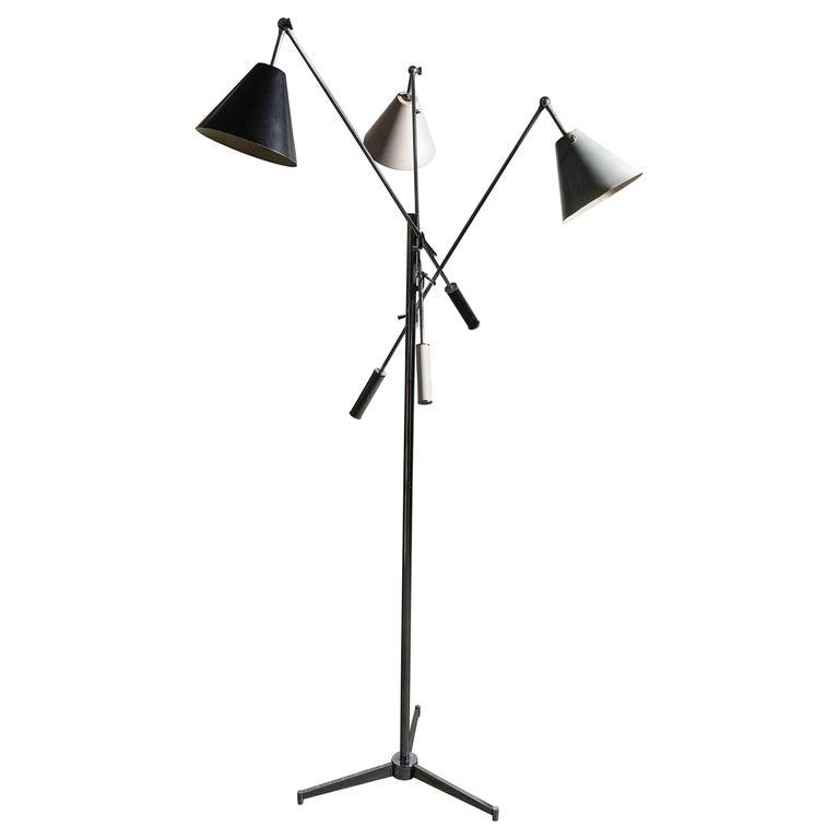 Arredoluce Monza Triennale Floor Lamp For Sale