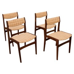 Rosewood Dining Chairs by Erik Buch, 1960s