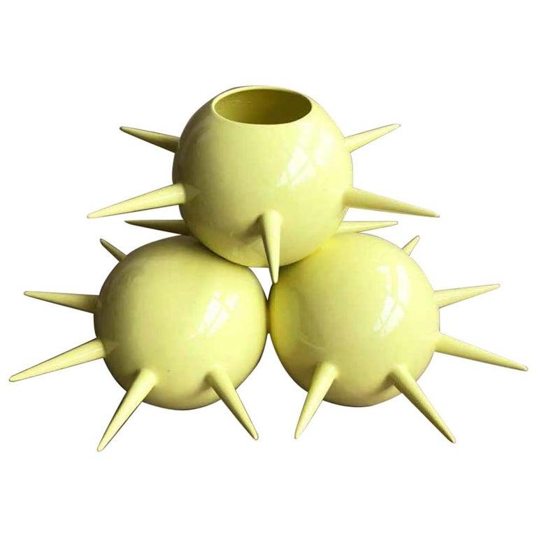 Fine Art Ceramic Ceiba Vase, Handmade, Organic Modern Minimalist Style For Sale