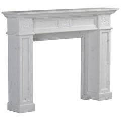 London Fireplace in Bianca Carrara Marble by Kreoo