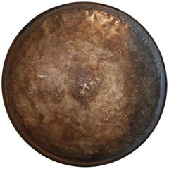 Early 20th Century Indian Mounted Copper Cooking Tray