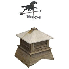 Horse Weathervane on Cupola