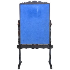 20th Century French Bulletin Board with Lyre Legs Style