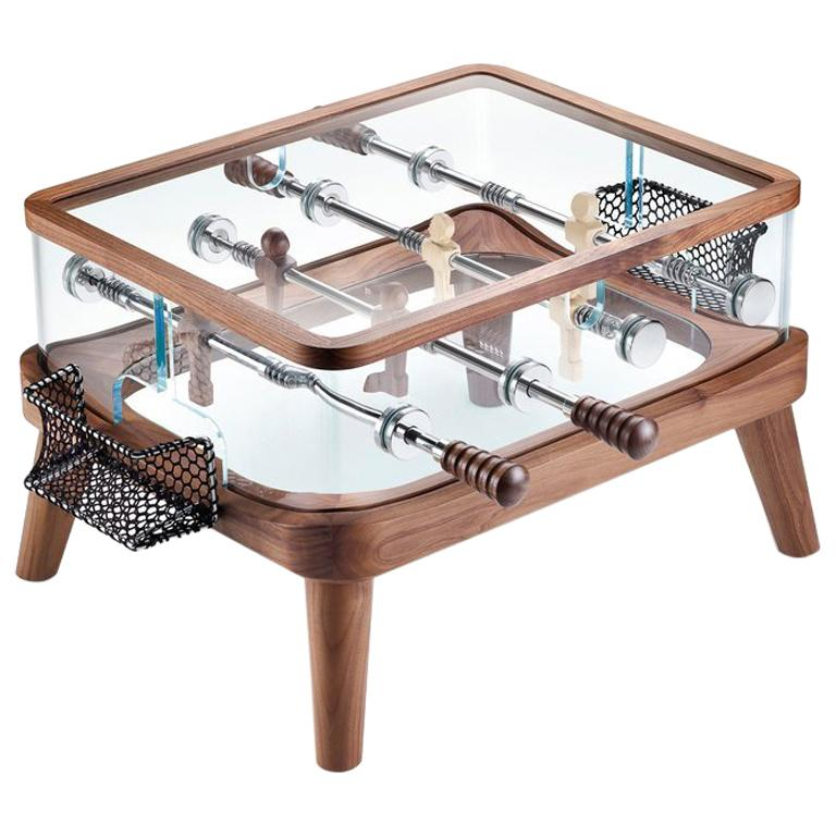 Intervallo Foosball Coffee Table by Adriano Design for Teckell For Sale