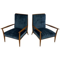 Pair of Paul McCobb Easy Chairs